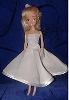 Одежда для куклы типа Барби-мини, Свадебное платье №4, Киев, фото 1