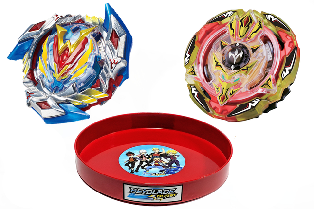 Бейблэйд набор ➜ Волтраек Winning Valkyrie V4 + Трезубец Screw Trident + Бейблейд Арена ➜ Beyblade Burst Set