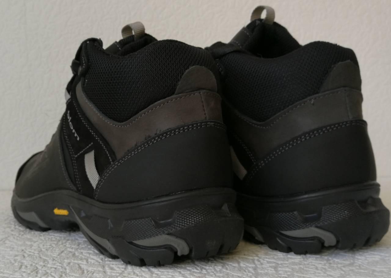 4158cd22c ... Экко зимние кожаные ботинки из кожи мех в стиле Ессо кроссовки черного  цвета, ...