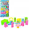 Мебель игрушечная WL4403 14 предметов