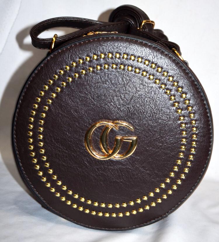 Круглая сумка Gucci цилиндр женская Gucci гуччи