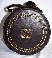 Круглая сумка Gucci цилиндр женская Gucci гуччи , фото 1