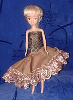 """Одежда для куклы Барби-мини, платье """"Змеиная кожа"""", Киев"""