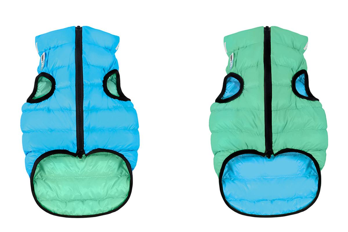 Куртка Airy Vest Lumi M 40 светящийся жилет салатово-голубой одежда для собак
