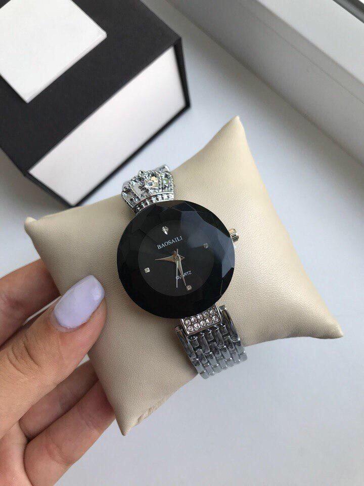 Часы Baosaili чёрные Black