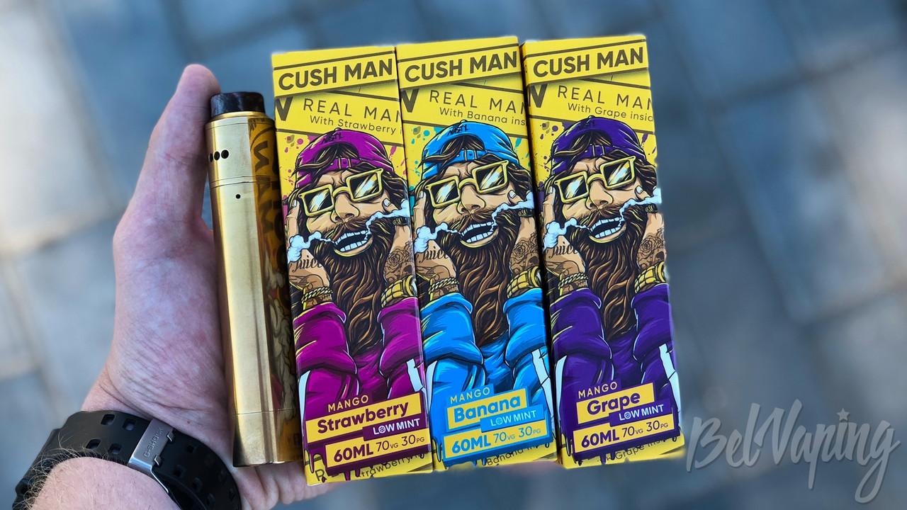 Жидкость для электронных сигарет Cush Man 60ml
