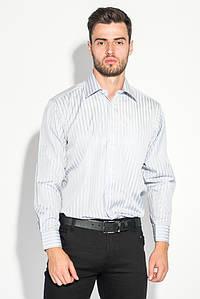 Рубашка мужская стильная 50PD869-39 (Серый полоска)