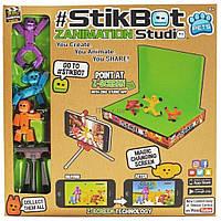 Игровой набор Stikbot S2 PETS – СТУДИЯ Z-SCREEN для анимационного творчества (TST617A)