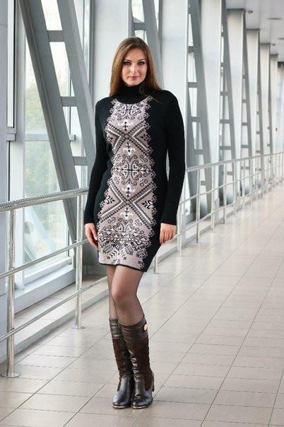 Женское платье красивого приталенного кроя - Оптово - розничный магазин  одежды