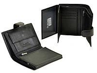 Бумажник мужской Dr. Bond M24 черный из 100% натуральной кожи для автодокументов 10*12,5*2 см