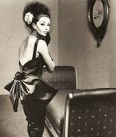 История 1960 Мода и текстиль