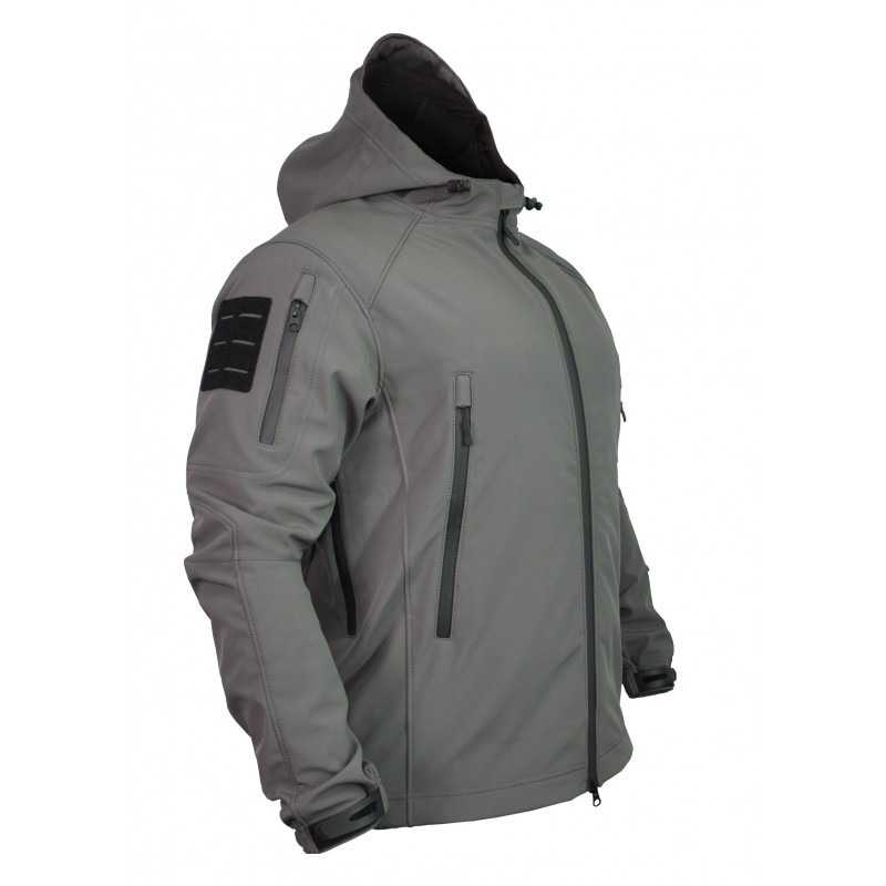 КУРТКА SOFT SHELL SPARTAN GRAY
