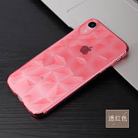 Силиконовый чехол Rhombus Diamond Case для iPhone Xr