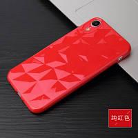 Силиконовый чехол Rhombus Diamond Case для iPhone Xs Max