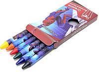 Восковые мелки Disney Spider-man, 6 цветов, SM4U-12S-2006B