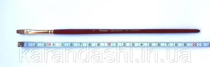 """Кисть Pinax """"Oro Rosso"""" Синтетика 754  Плоская N 4, фото 2"""