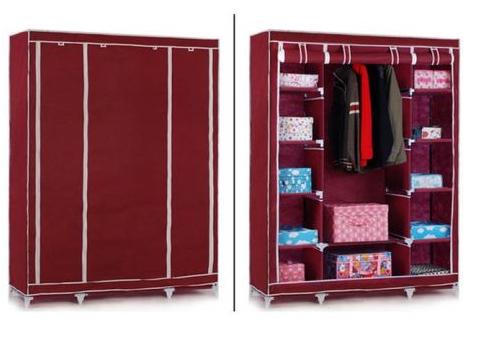 Тканинний складаний шафа гардероб YQF130-14B