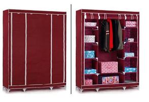 Тканинний складаний шафа гардероб YQF130-14B, фото 2