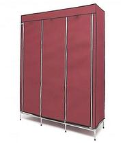 Тканинний складаний шафа гардероб YQF130-14B, фото 3