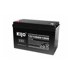 Гелевый аккумулятор Kijo JDG12-100