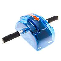 Ролик гимнастический (колесо для пресса) с механизмом возврата RollerSlide