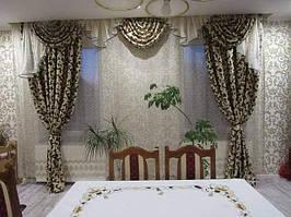 Товар на нашем сайте https://vr-textil.com.ua/p501343747-komplekt-lambreken-shtorami.html