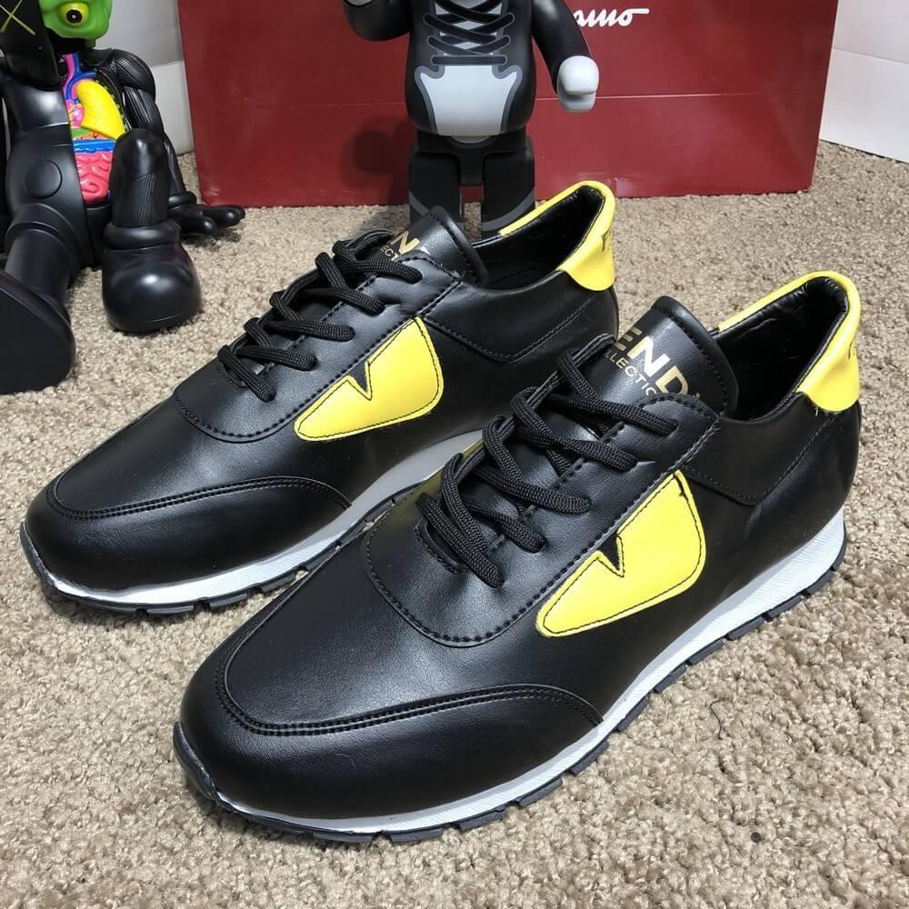 f1f014c0e8d1 Мужские кроссовки Fendi Sneakers Monster Eyes, Реплика  продажа ...