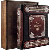 Альбом для монет. Елітні книги в шкірі, фото 1