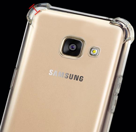 Силиконовый чехол для Samsung Galaxy A5/A520 (2017)