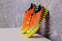 Бутсы Nike Mercurial CR7 (Оранжевые) 1006(реплика), фото 1