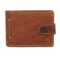 Кожаный мужской кошелек портмоне Польша натуральная кожа, фото 1