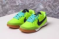 Футзалки Nike Tiempo Подростковые  (реплика) 1055, фото 1