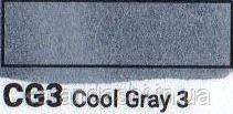 Маркер SKETCHMARKER долото-тонкое перо CG3 Cool gray 3 Прохладный серый 3, фото 2