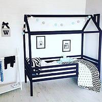 Детская кровать -  домик из натурального дерева