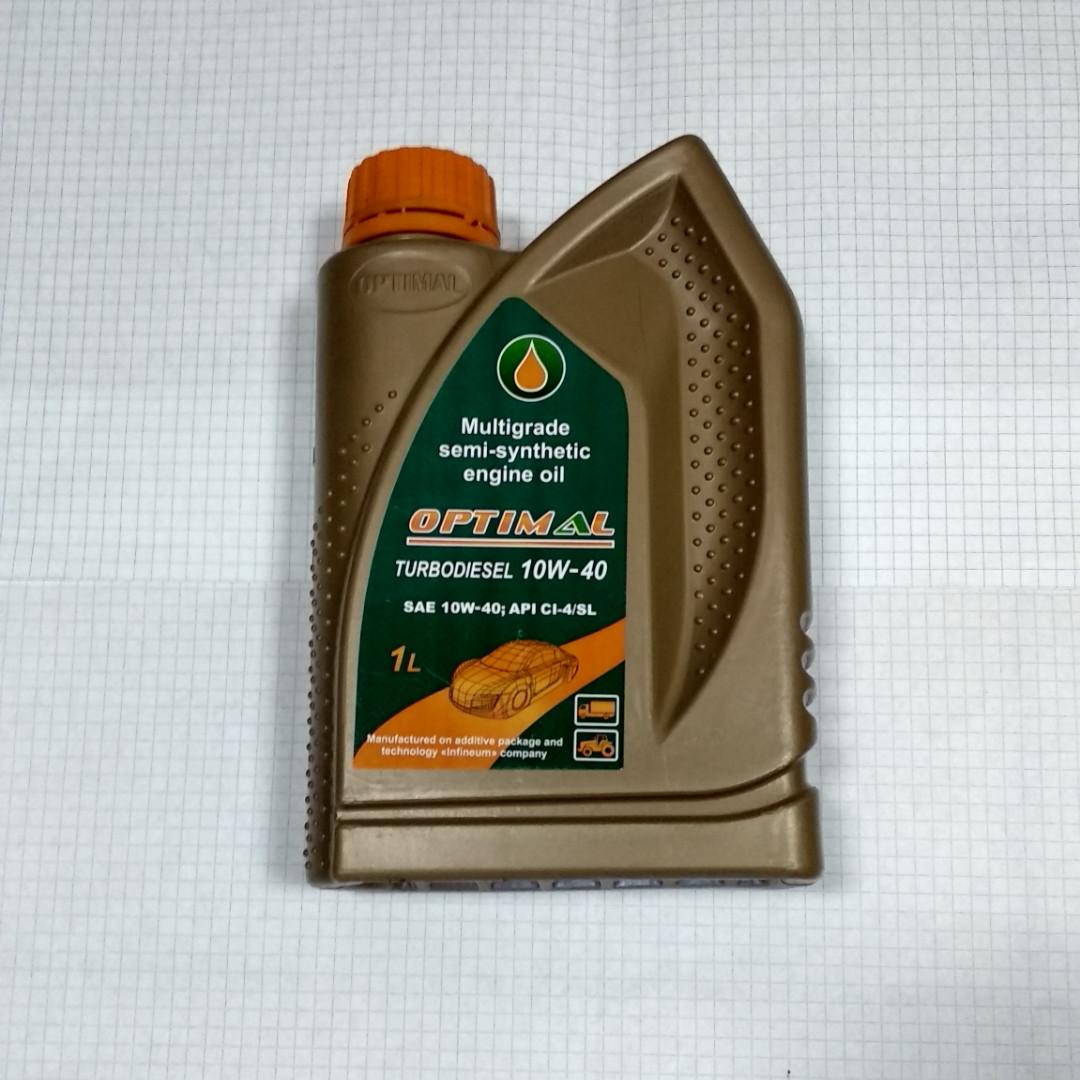 Масло моторное Оптимал Турбодизель 10W40 1л