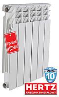 Биметаллический радиатор HERTZ 500/80 (Польша)
