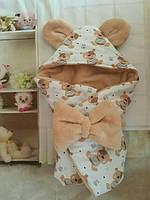 """Конверт-одеяло махровый  78""""78 см"""