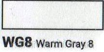 Маркер SKETCHMARKER долото-тонкое перо WG08 Warm Gray 08 Теплый серый 08, фото 2