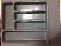 Пенал для кухонных приборов Volpato, серый, 390x490 мм