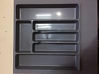 Пенал для кухонных приборов Volpato, серый, 440x490 мм