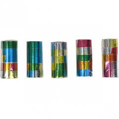 Серпантин разноцветный Лазер