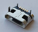 Коннектор Micro USB, Micro USB Гнездо, Micro USB разъем. №13. 1 шт, фото 5