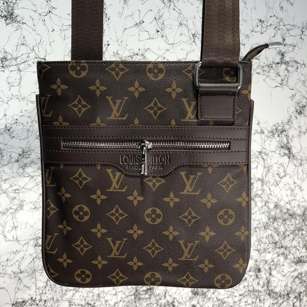 d442cc2a1801 Сумка Louis Vuitton 19037 темно-коричневая - купить по лучшей цене ...