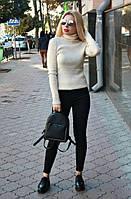 "Вязаный женский свитер ""Ника"", беж, фото 1"