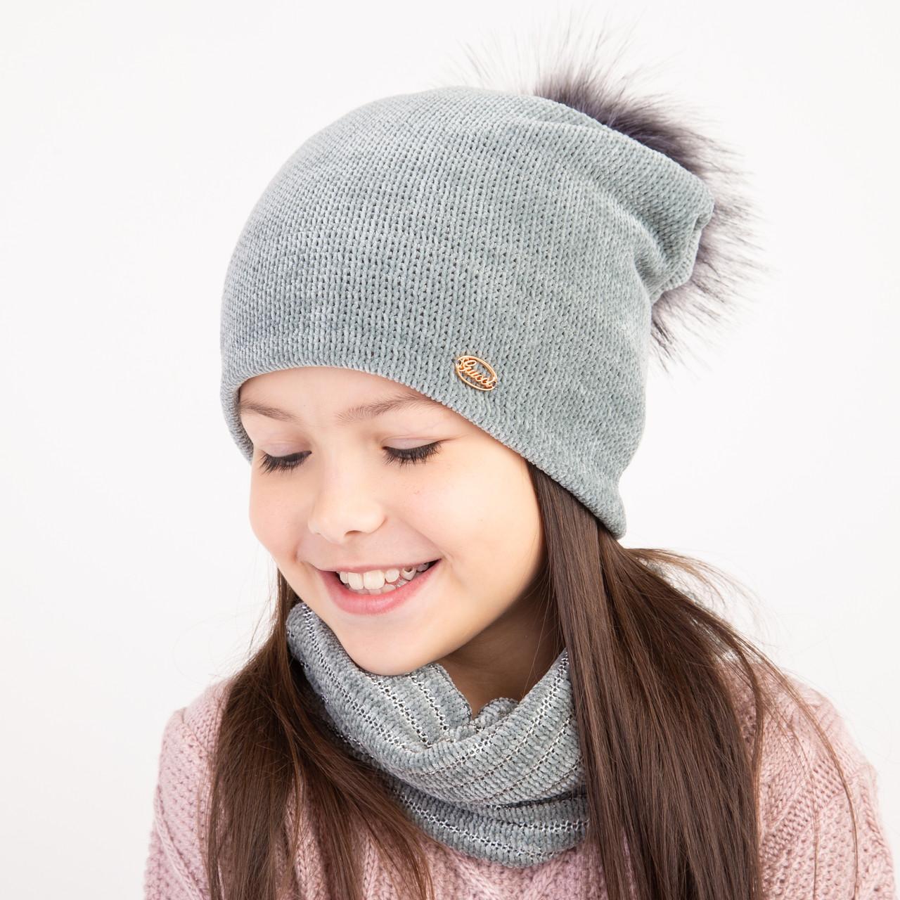 Теплый зимний комплект для девочки оптом - Артикул 2365