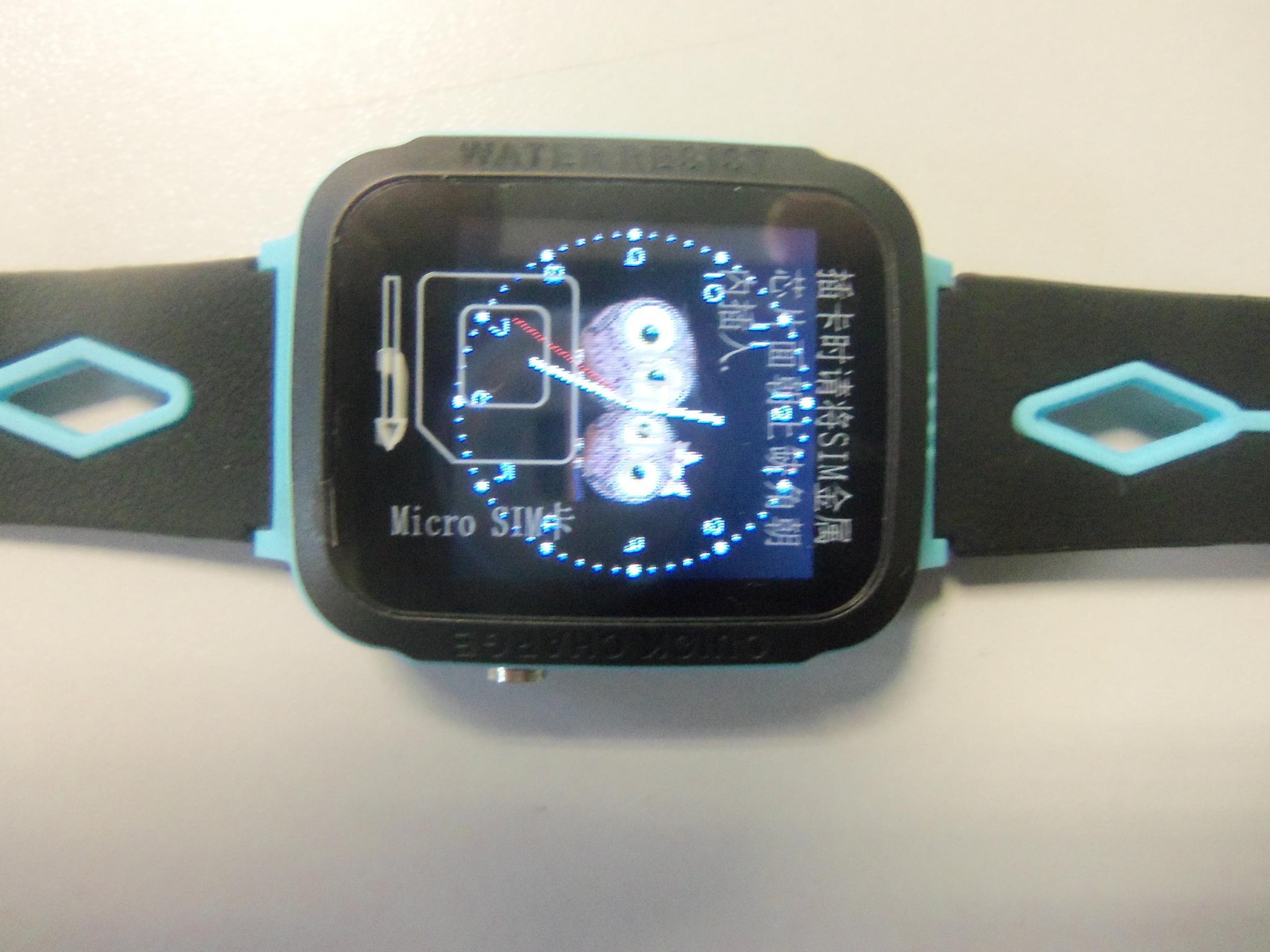 Водонепроницаемые часы с GPS Smart Baby Watch Aqua V6G (IQ600) Голубой    продажа 451f5259d99e1