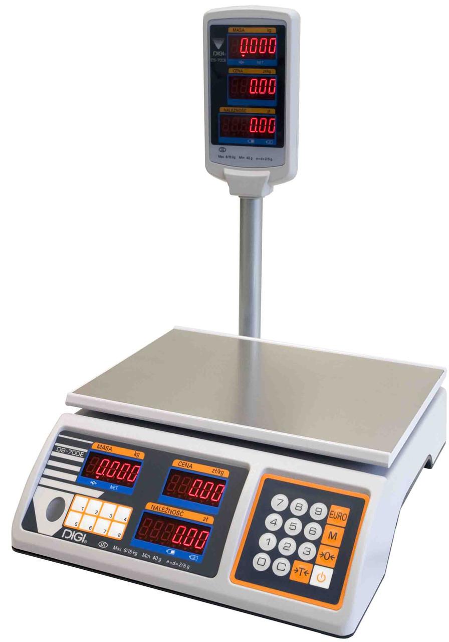 Весы торговые Digi DS 700 EP (6 кг)