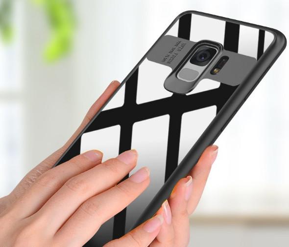 Защитный чехол накладка Auto Focus Samsung Galaxy A6+/A605 (2018)