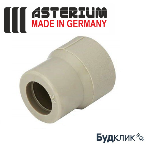 Asterium Німеччина Муфта Редукційна Ø50Х25