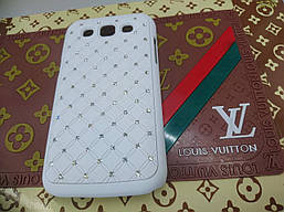 Чехол-накладка для Samsung Galaxy Win GT-I8552 со стразами